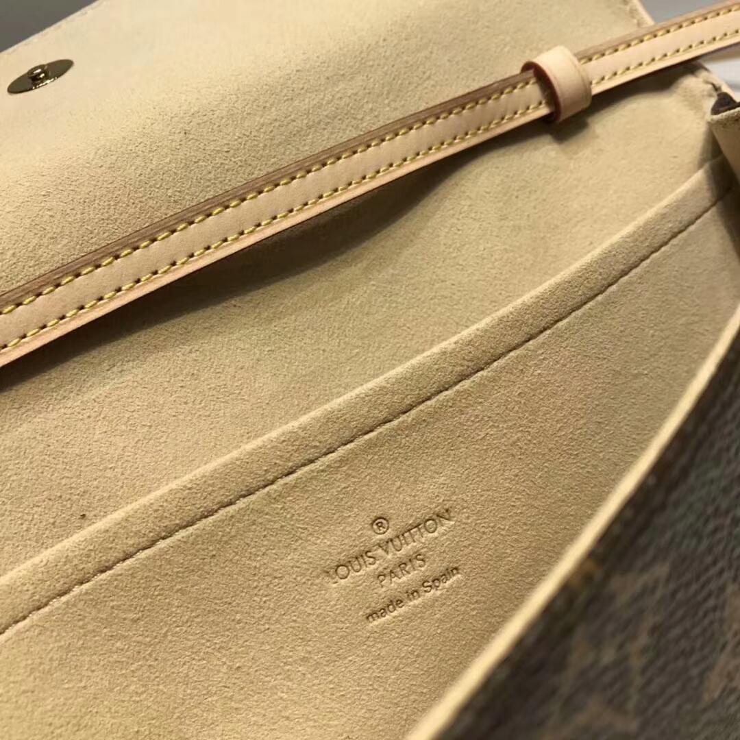 路易威登官网 LV复古小腰包大号40712 提升品位的小配饰