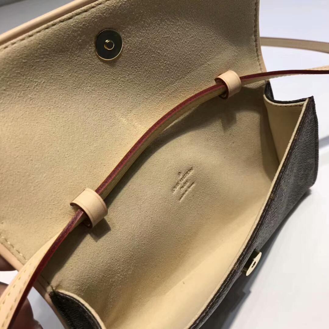 路易威登官网 LV复古小腰包中号40714 提升品位的小配饰
