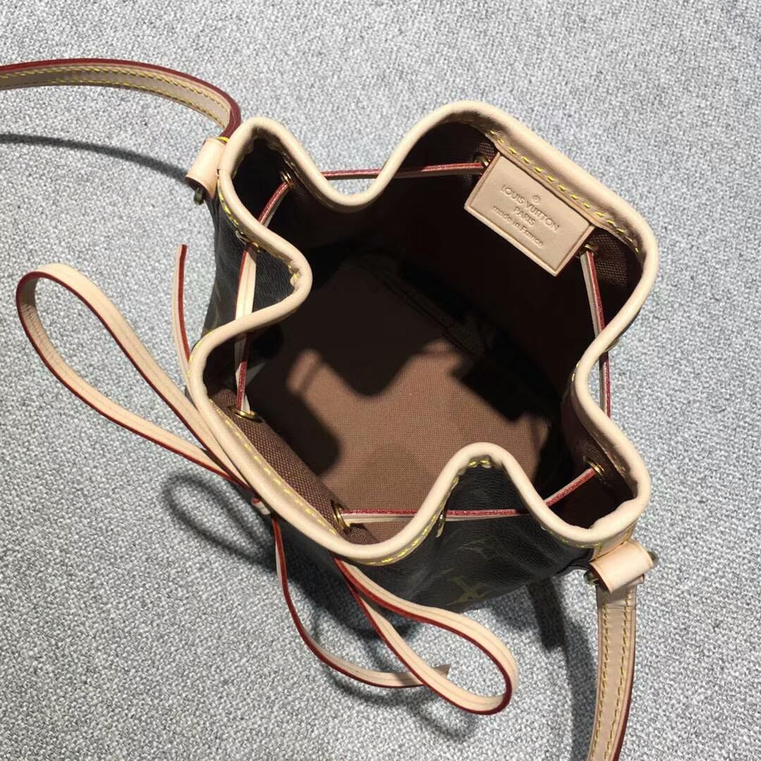 【¥450】Louis Vuitton 迪丽热巴同款M41346 迷你水桶包 包包批发 老花