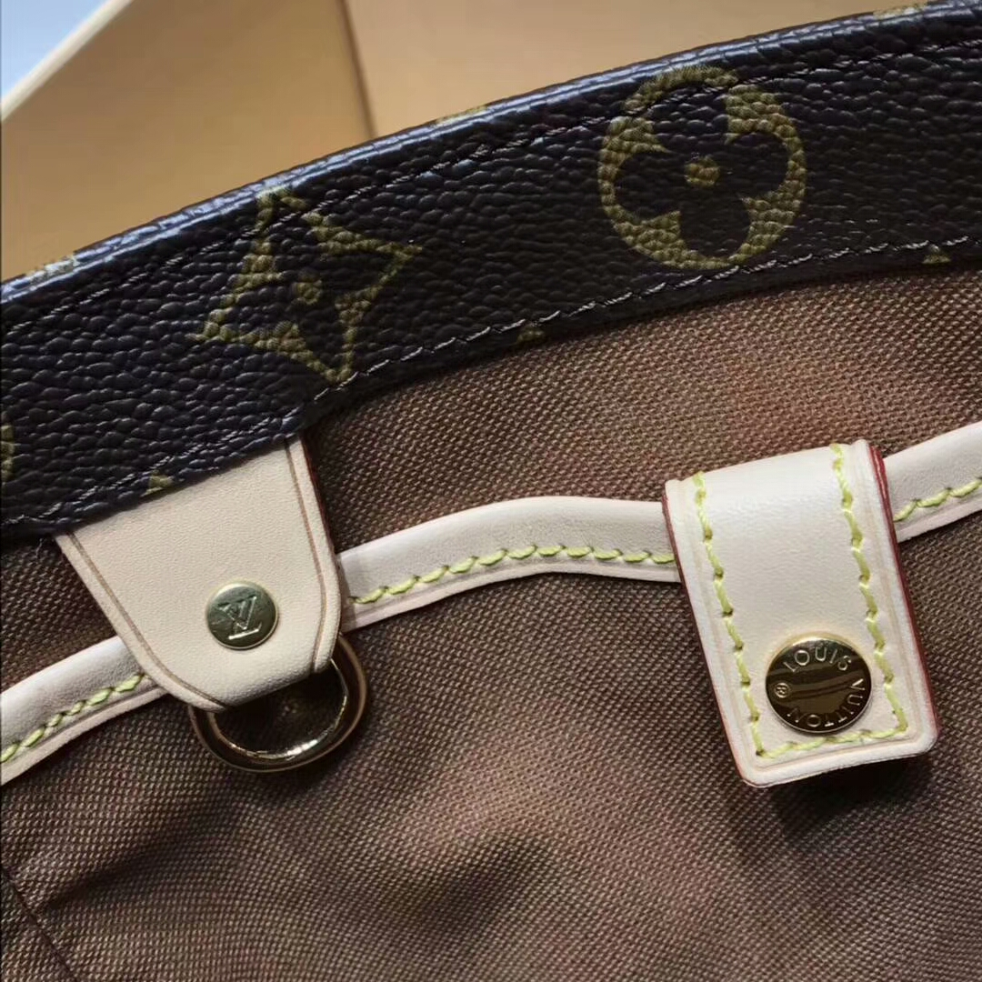 广州白云皮具城 LV中古手提袋41971 轻便宽敞 能搭配肩带