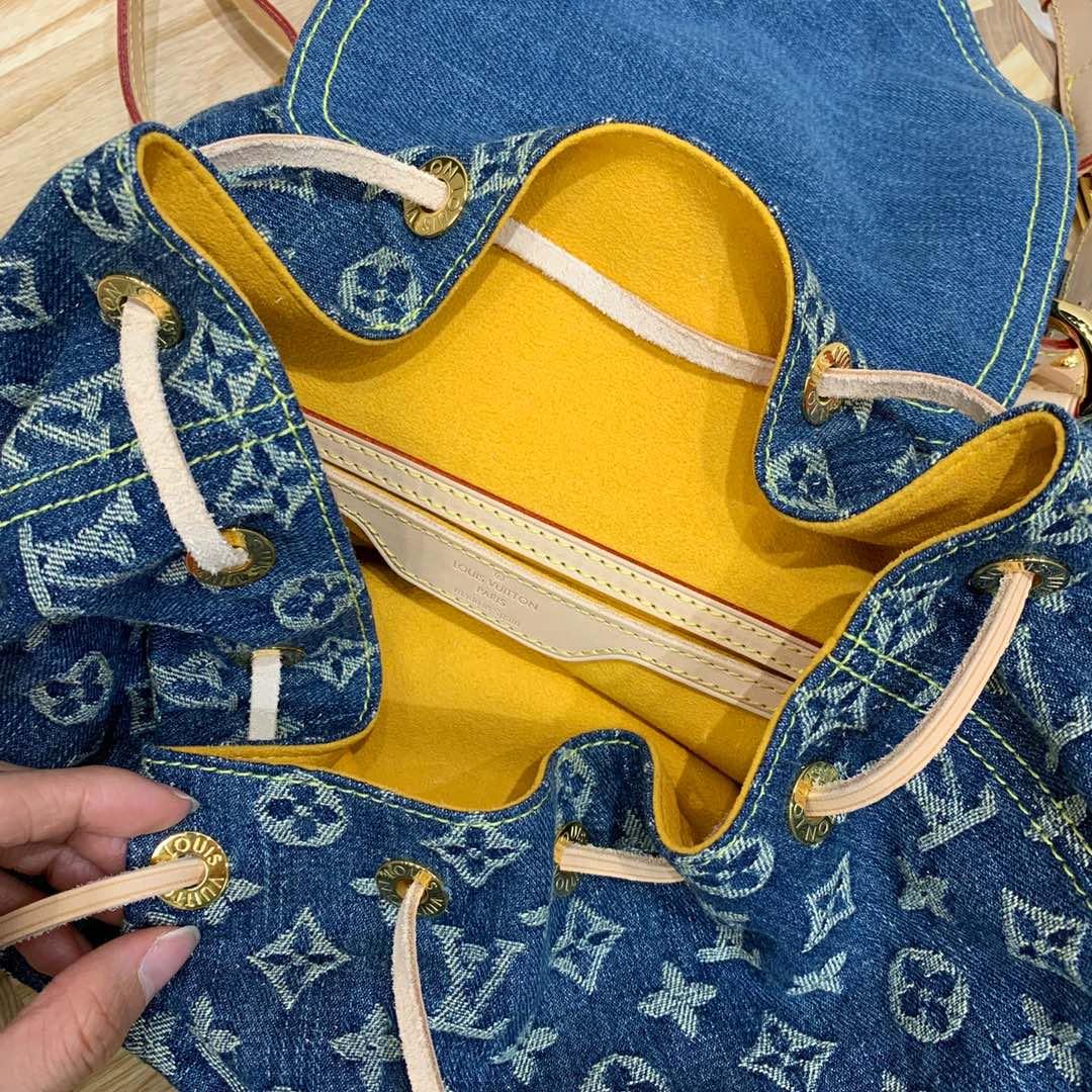 路易威登官网 LV牛仔系列中古绝版限量款背包44460 无论怎么搭配都超有范