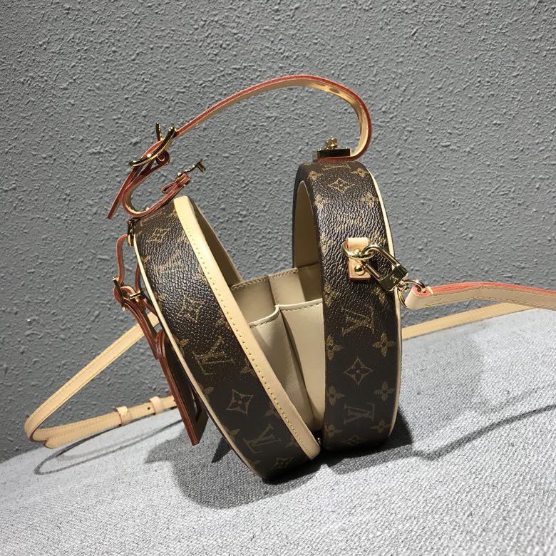 广州包包批发市场 LV经典帽盒风格可爱43516 小巧实用 无比新潮 全钢五金