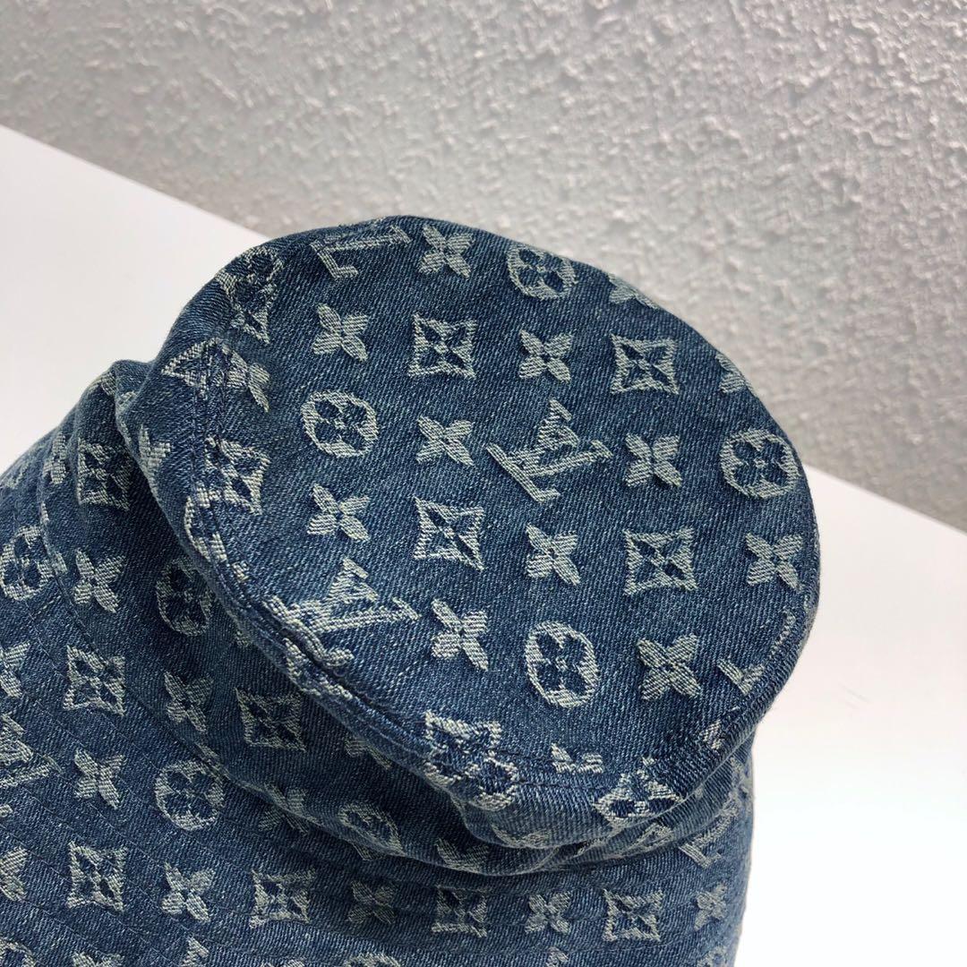 LV包包批发 中古绝版限量款牛仔帽44481 超有范无敌洋气