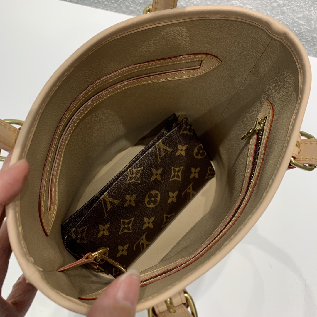 广州白云皮具城 中古子母水桶包41994 大容量非常实用 母包肩带可调节 子包可斜挎或当零钱包