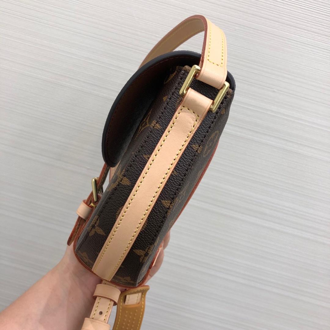 【¥980】路易威登官网 中古马鞍包小号号45445 耐看百搭 复古时髦
