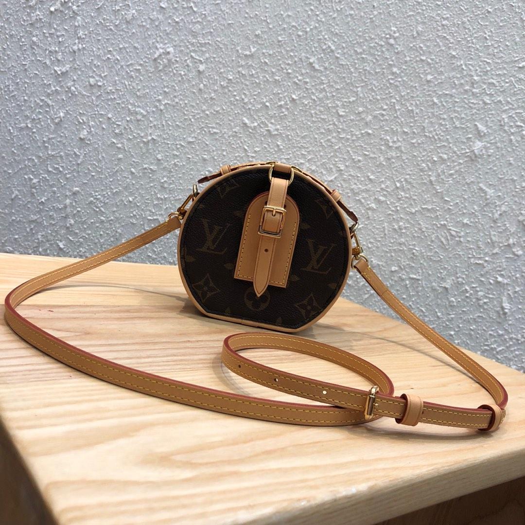 【¥950】LV包包批发 mini小圆饼43520 能放日常小物件 太可爱了
