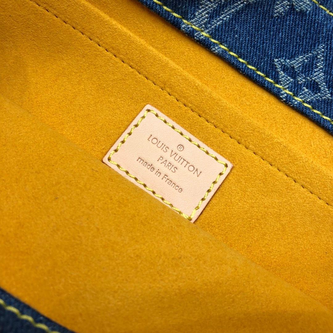 路易威登官网 中古绝版限量款牛仔系列44458 有范洋气