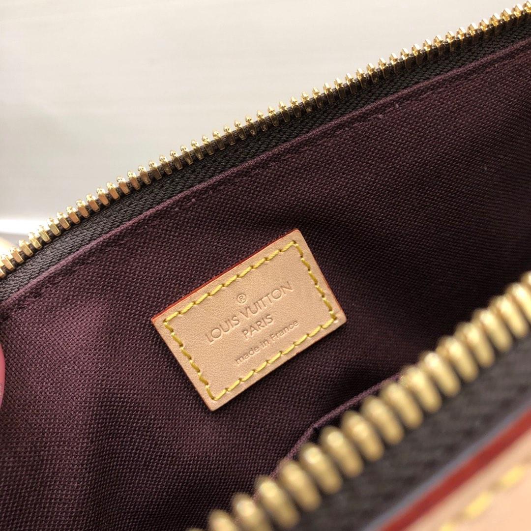 路易威登官网 经典老花手袋45441 随性气质 简洁大方
