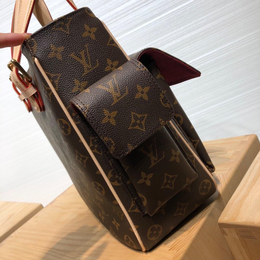 【¥1320】路易威登官网 中古手提公文包45463 店长推荐 经典复古