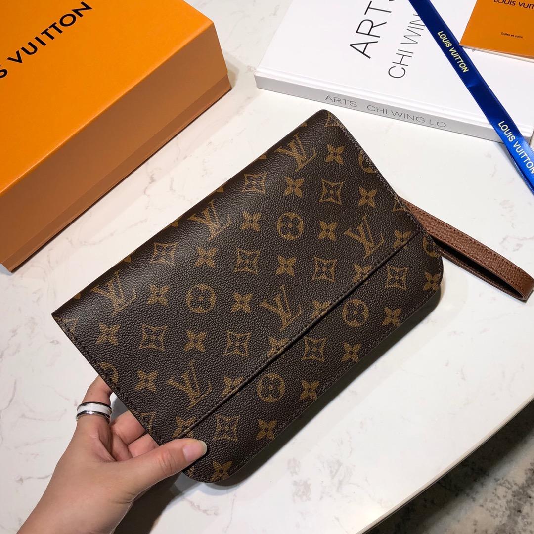 【¥630】路易威登包包 中古手包45339 稀少臻品值得收藏