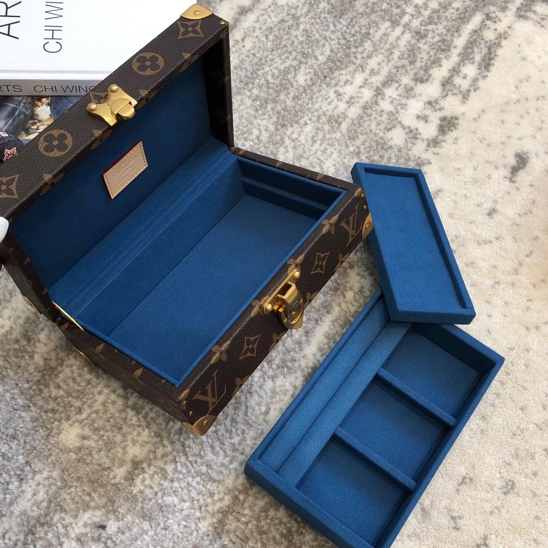 LV包包爆款 专柜私人订制首饰盒40669 小巧精致