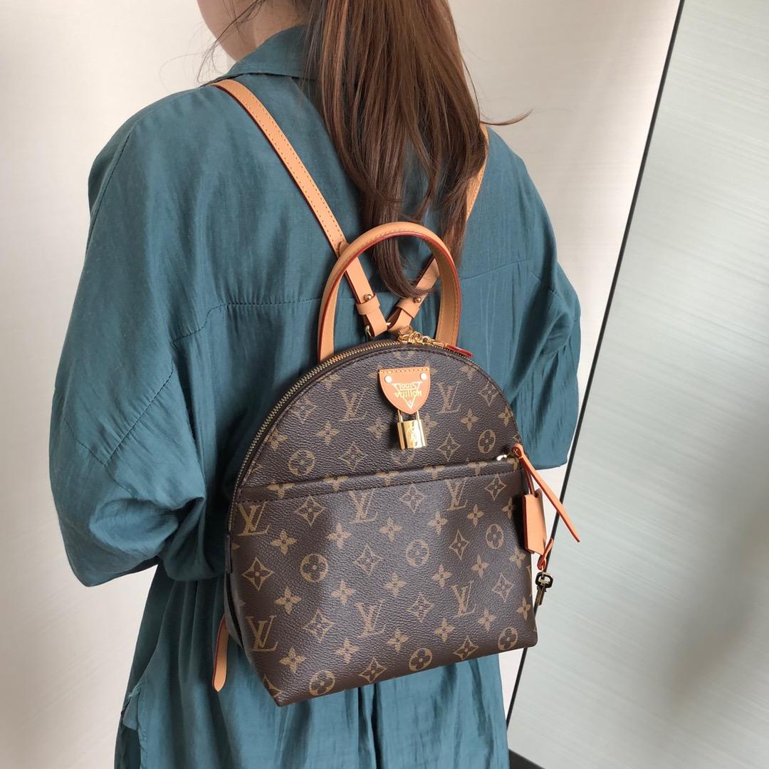 【¥1100】LV包包 2020年春夏最新双肩背包50141 风格独特 能当手提包使用