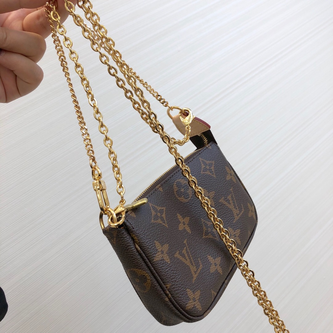 【¥360】LV包包爆款 经典老花零钱包51982 中古小包 当下最流行