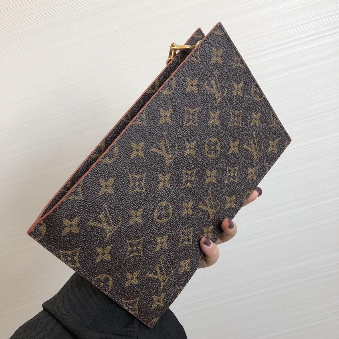【¥750】LV包包批发 2020早春老花链条手包50154 魅力时尚