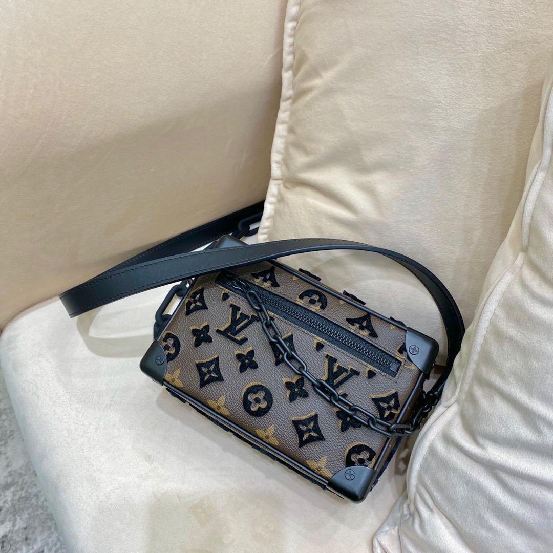 路易威登包包 软盒子出新44435 经典Monogran呢绒绣花 神仙搭配