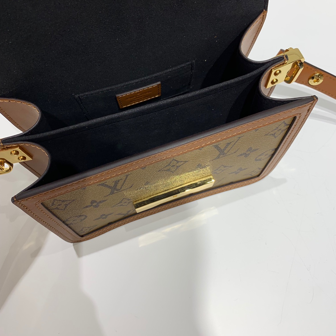 路易威登包包 时尚风采拼经典老花款小号44162 复古休闲