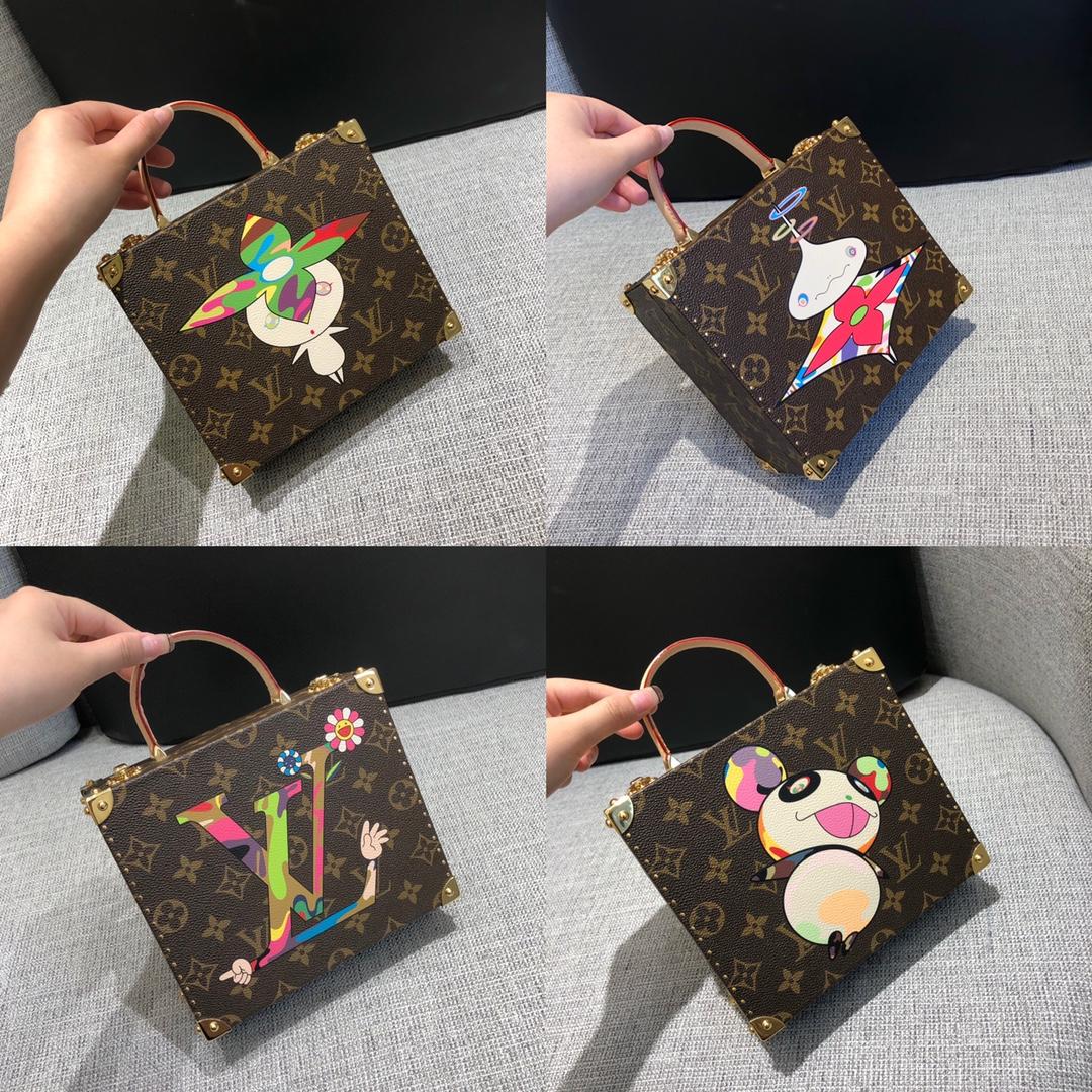 【¥1400】路易威登官网 村上隆彩绘系列盒子50714 俏皮可爱 时尚宠儿
