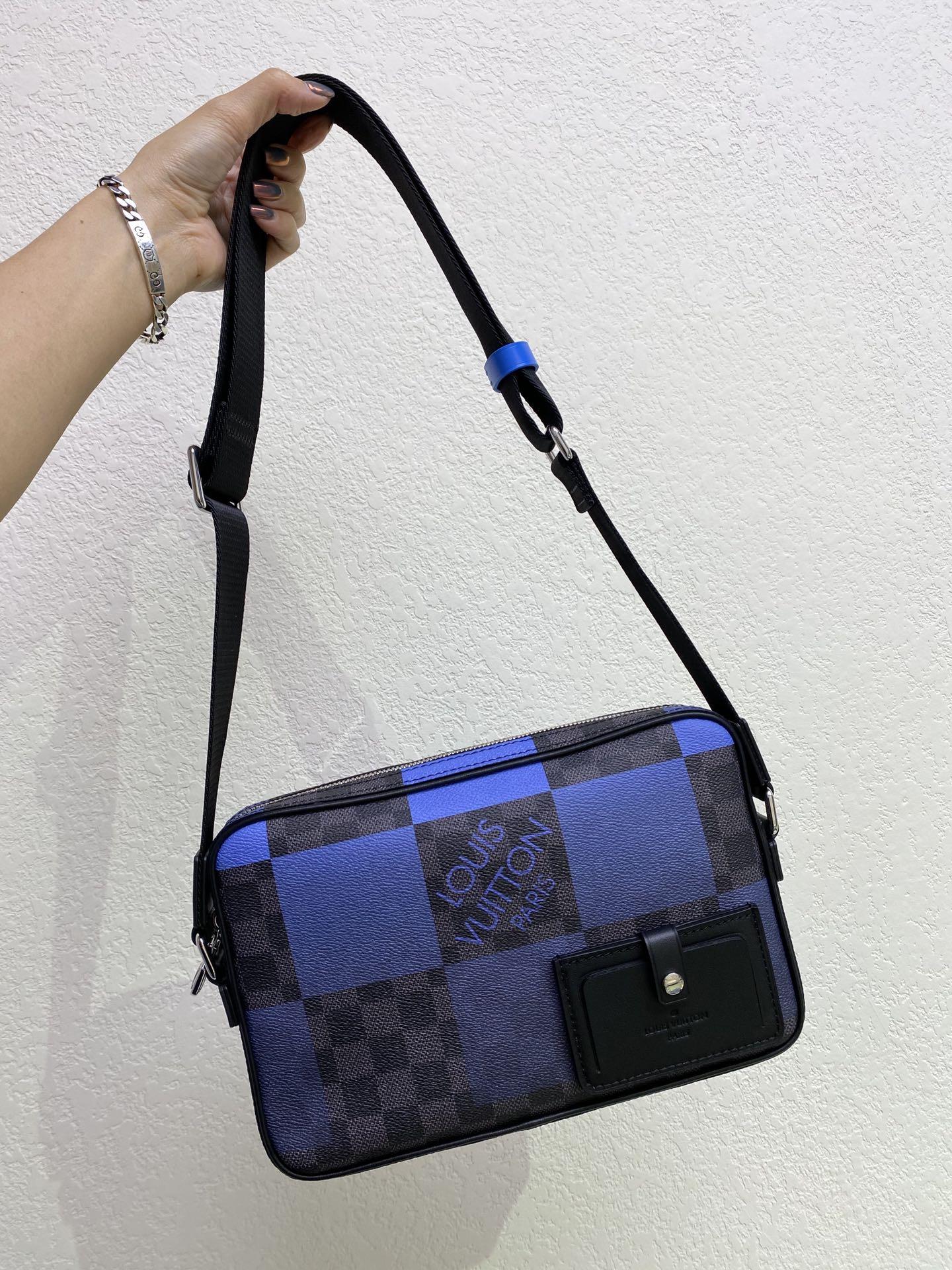 【¥980】LV包包官网 新款Alpha邮差包40408 设计时尚