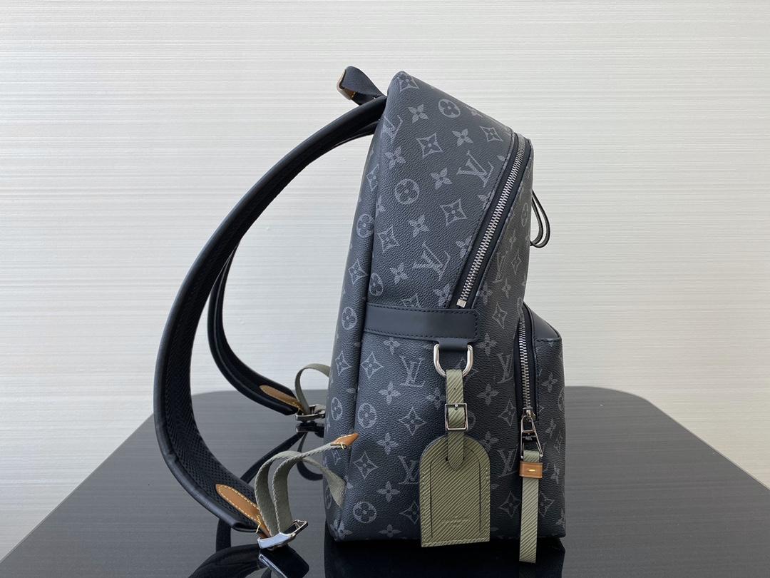 【¥1200】LV经典款背包40837 最实用的一款背包 黑花御用原厂皮 土黄色图标帅气且新颖