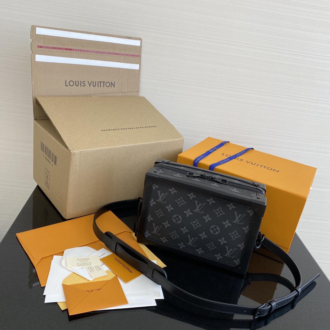 【¥1350】LV男包 新版本豆腐包44427 火爆热卖 型男必备