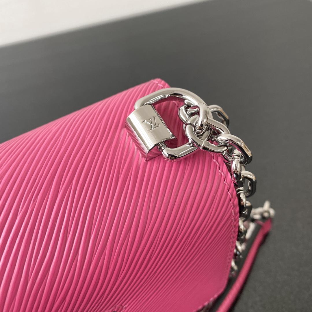 【¥900】LV包包批发 2020早春twist mini50275 可变式链条手柄可以斜背也可以优雅肩背