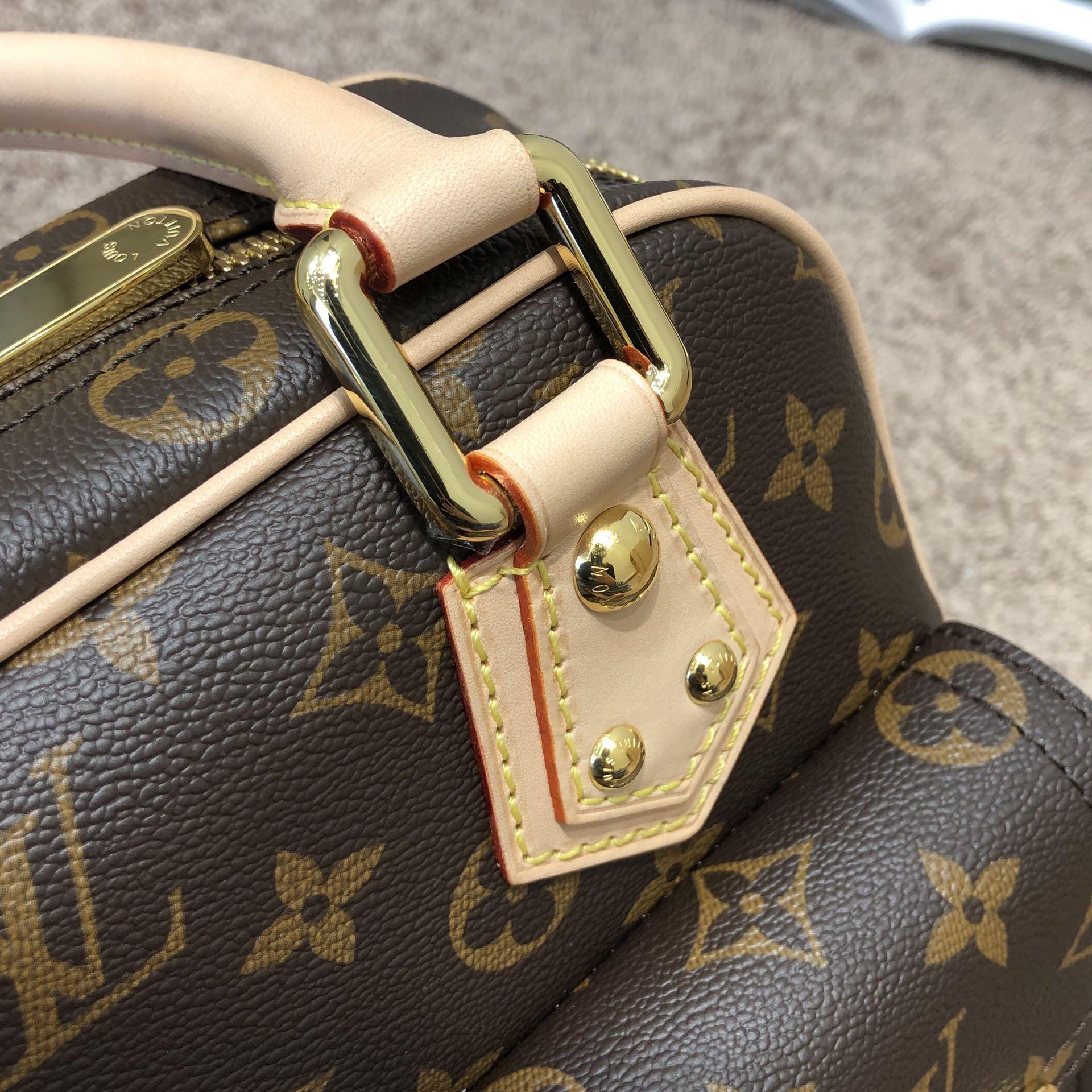 【¥1320】LV中古老花款手提包45371 绝版的精品 经得起市场挑剔的考验