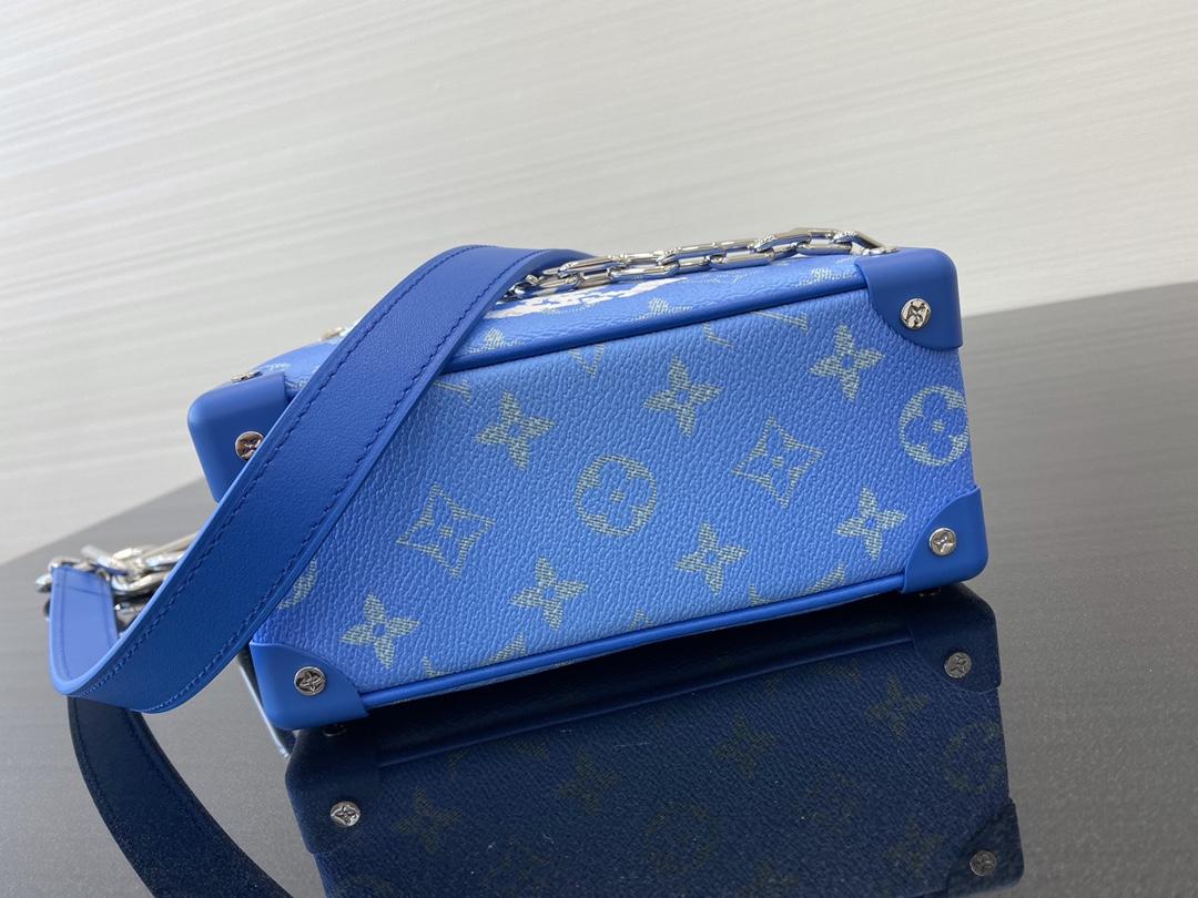 【¥1150】LV蓝天白云系列砖块包44435 美出天际的一季 蓝天白云 晴空往里