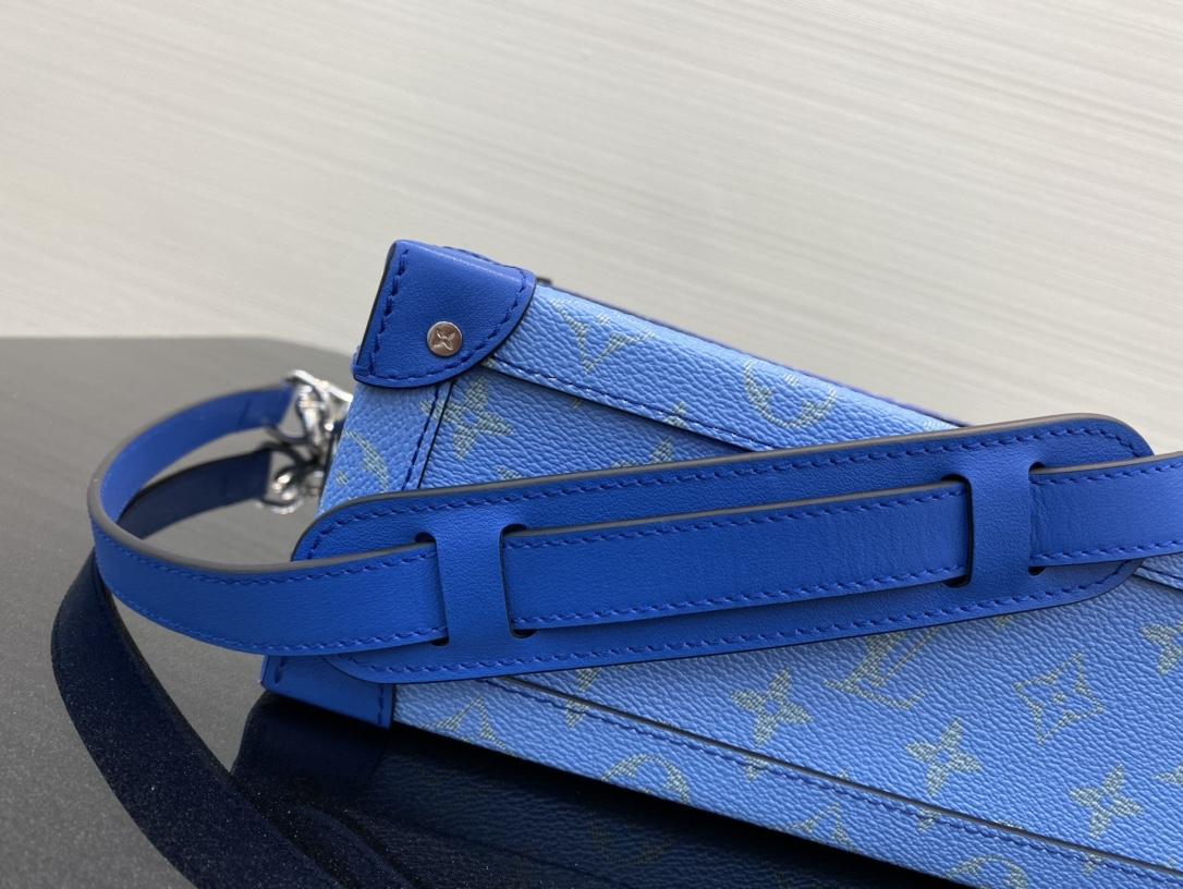 【¥1280】LV蓝天白云系列豆腐包44427 美出天际的一季 蓝天白云 晴空往里
