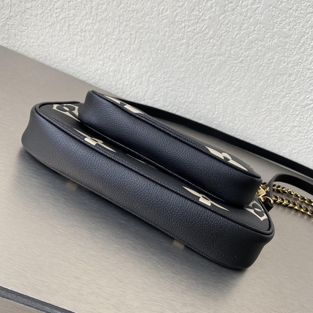 【¥1200】LV三件套麻将包51984 新式全皮印花 实用性极高