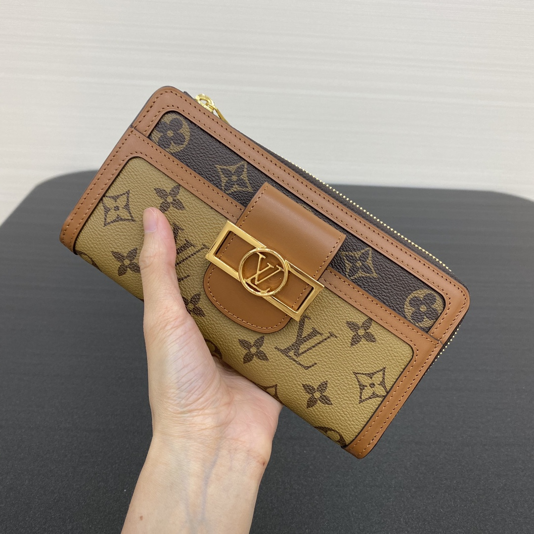 【¥600】LV达芙妮钱夹69162 可拆卸手提带子也可作为手包使用