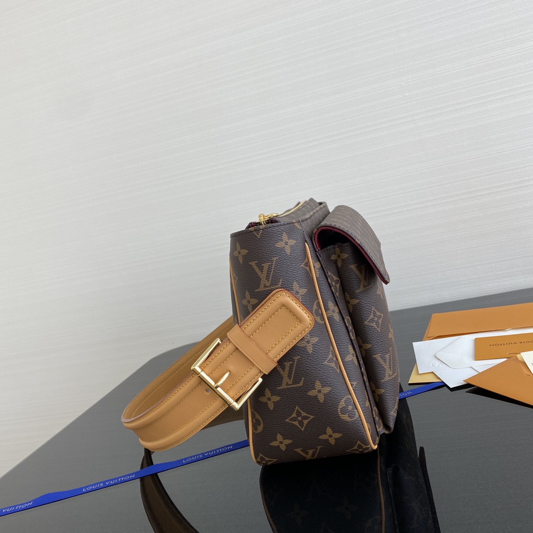 【¥1020】LV中古腋下包45465 通勤出差使用超级棒 绝版的精品