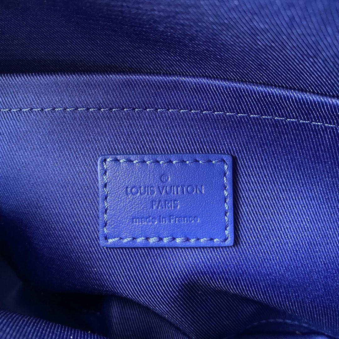 【¥1400】LV新款邮差S Lock系列45863 经典monogram帆布和taurillon压纹牛皮