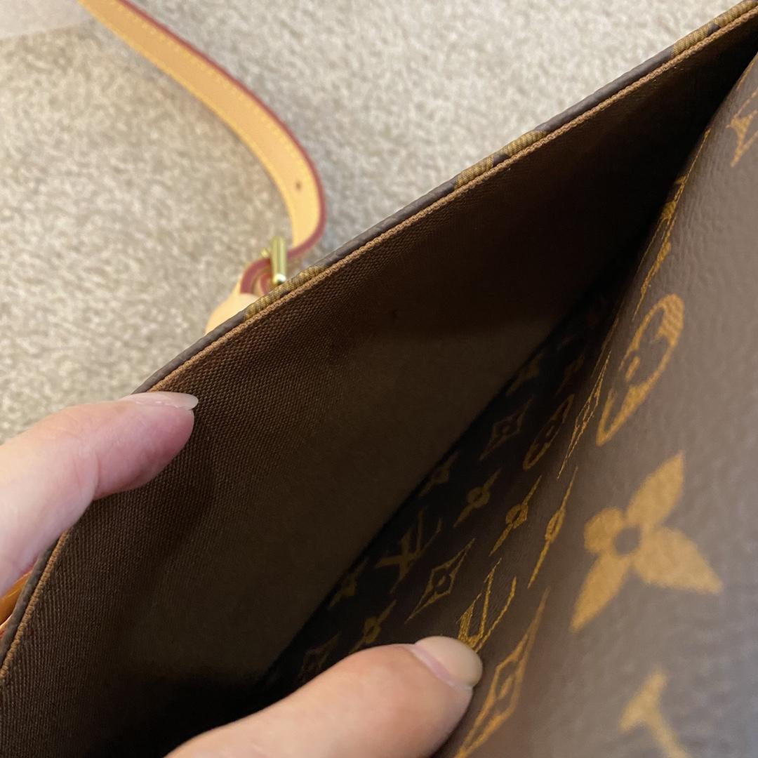 【¥1200】中古邮差包!男女通用 超百搭 27×20×8cm,42274
