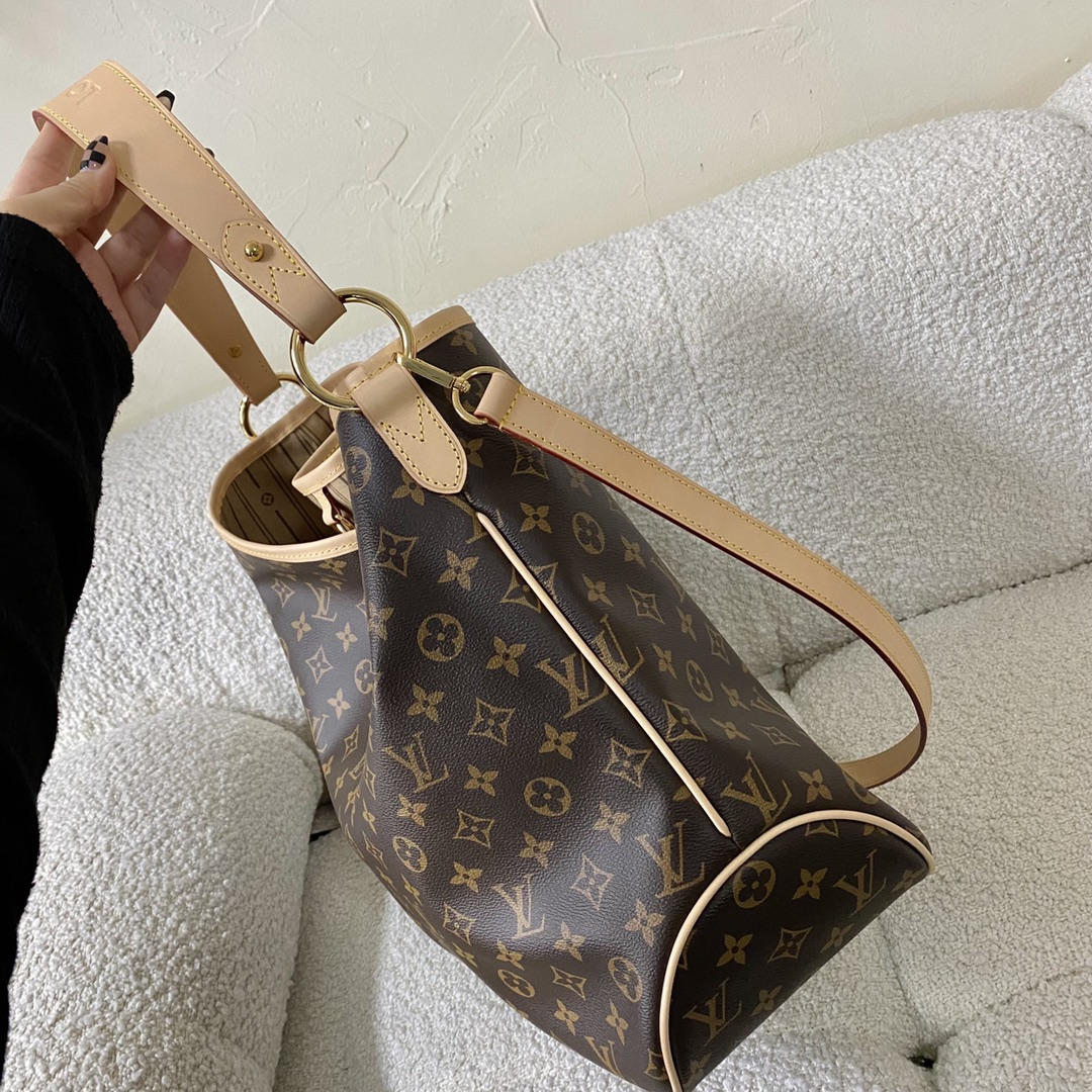 【¥1280】到货(赠送长肩带) Delightful中古版购物袋 41×15×34cm40184大包界的绝绝子